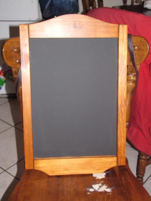 Chalkboard from Delmar Woodcraft
